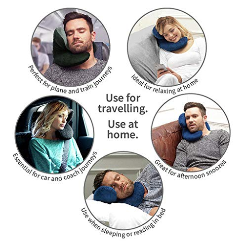 J Pillow Reisekissen mit Kinnunterstützung - 3